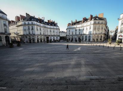 Nantes Ghost City  Covid-19